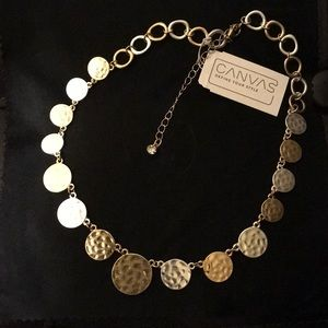 Jewelry - ** 3 for $45 SALE ** Canvas Choker